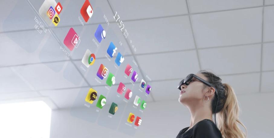 Nreal 联合LG U+在韩国发布首款消费级AR眼镜