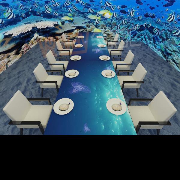 全息餐厅,全息投影_欧宝体育app下载地址VR
