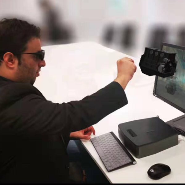 1058VR  EduScope 3D全息 仿真 VR/AR 手势交互系统