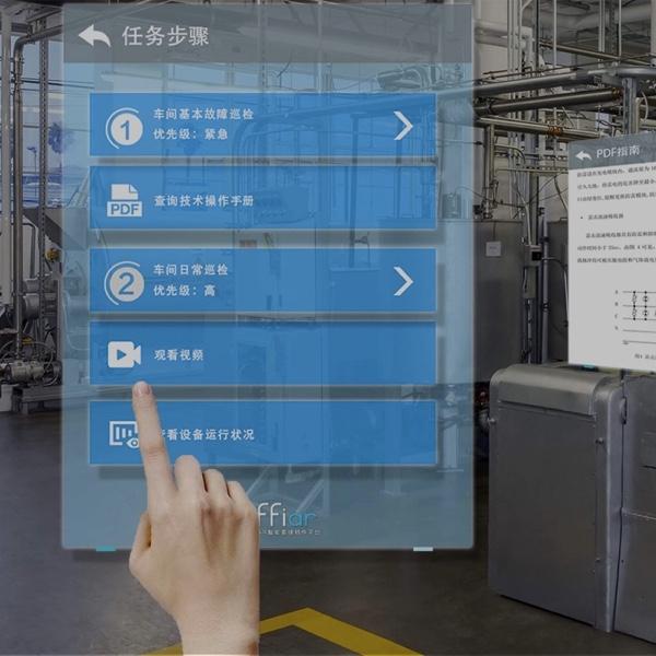 effiar企业级AR智能眼镜软件平台